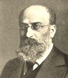 Adler, Guido Komponist Portrait Bild
