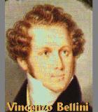 Bellini, Vincenzo Komponist Portrait Bild