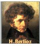 Berlioz, Hector Komponist Portrait Bild