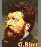 Bizet, Georges Komponist Portrait Bild