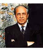 Boulez, Pierre Komponist Portrait Bild