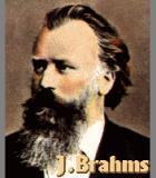 Brahms, Johannes Komponist Portrait Bild