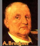 Bruckner, Anton Komponist Portrait Bild