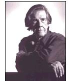 Cage, John Komponist Portrait Bild