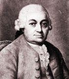 Bach, Carl Philipp Emanuel Komponist Portrait Bild