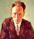 David, Johann Nepomuk Komponist Portrait Bild