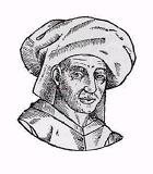 Despréz, Josquin Komponist Portrait Bild