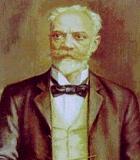 Dvorak, Antonin Komponist Portrait Bild