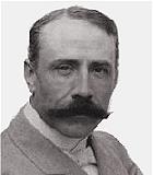 Elgar, Edward Komponist Portrait Bild