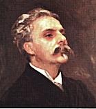 Fauré, Gabriel Komponist Portrait Bild