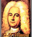 Haendel, Georg Friedrich Komponist Portrait Bild