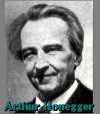 Honegger, Arthur Komponist Portrait Bild