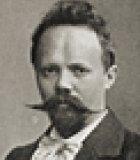 Humperdinck, Engelbert Komponist Portrait Bild