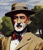 Ives, Charles Edward Komponist Portrait Bild