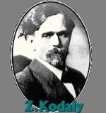 Kodály, Zoltán Komponist Portrait Bild