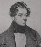 Lanner, Josef Komponist Portrait Bild