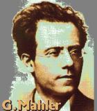 Mahler, Gustav Komponist Portrait Bild