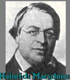Marschner, Heinrich Komponist Portrait Bild