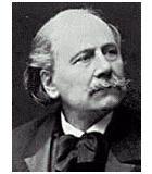 Massenet, Jules Komponist Portrait Bild