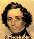 Mendelssohn-Bartholdy, Felix Komponist Portrait Bild