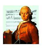 Mozart, Leopold Komponist Portrait Bild