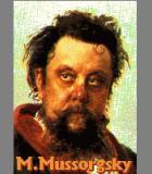 Mussorgsky, Modest Komponist Portrait Bild