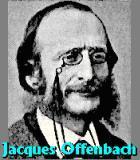 Offenbach, Jacques Komponist Portrait Bild