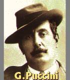 Puccini, Giacomo Komponist Portrait Bild