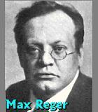 Reger, Max Komponist Portrait Bild