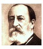 Saint-Saëns, Camille Komponist Portrait Bild