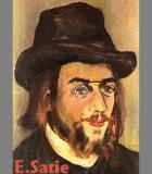 Satie, Erik Komponist Portrait Bild