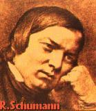 Schumann, Robert Komponist Portrait Bild