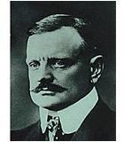 Sibelius, Jean Komponist Portrait Bild