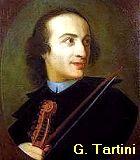 Tartini, Giuseppe Komponist Portrait Bild