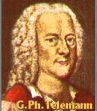 Telemann, Georg Philipp Komponist Portrait Bild