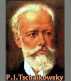Tschaikowsky, Peter Illjitsch Komponist Portrait Bild