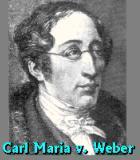Weber, Carl Maria von Komponist Portrait Bild