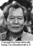 Yun, Isang Komponist Portrait Bild
